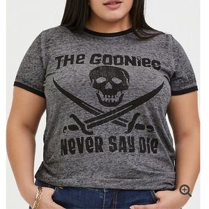Torrid THE GOONIES GREY TEE